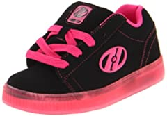 Heelys Youth Straight Up                                  Please select one size up from your normal size. If you wear Youth size 1, please choose Youth size 2.                  Synthetic and nubuck upper with contrast stitchi...