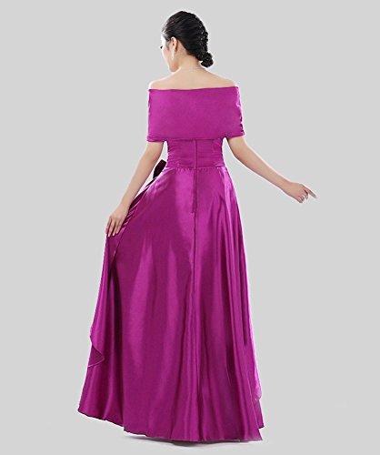 Damen Violett Drasawee Empire Drasawee Kleid Damen cfzWww7v8q