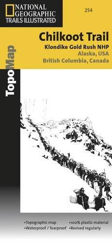 Chilkoot / Klondike Gold Rush: National Geographic Trails Illustrated Alaska (National Geographic Trails Illustrated Map, Band 254)