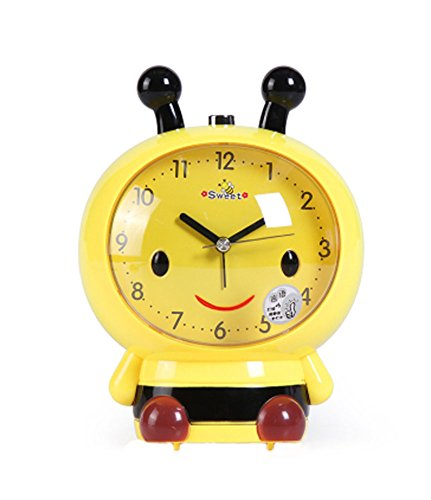 Cute Bee-Shaped Alarm Clock for the Office - beekeeper gift for offic