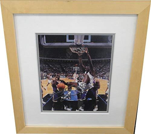 Shaquille O'Neal Signed Autographed 8x10 Framed Photo Orlando Magic Scoreboard