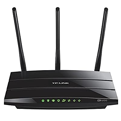 TP-Link Archer AC1200 Smart WiFi Router – Dual-band Gigabit (C1200) (Certified Refurbished) by TP-LINK