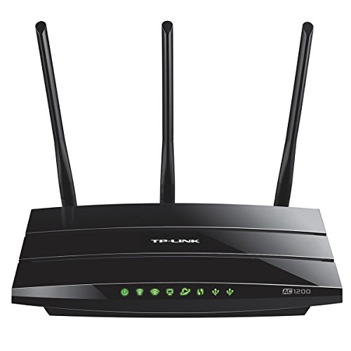 TP-Link Archer AC1200 Smart WiFi Router – Dual-band Gigabit (C1200) (Certified Refurbished)