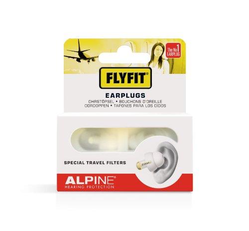 Alpine-FlyFit-Bouchons-doreilles-pour-AvionVoyage-Blanc