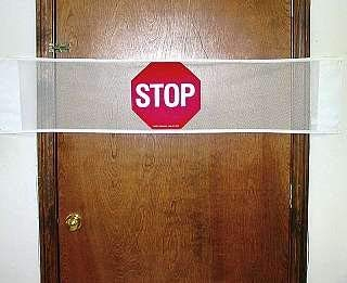 (Door Guard Stop Sign Size: 53