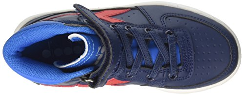 Diadora Jungen MI Basket II Jr Hohe Sneaker Blau (Estate Blue/directoire Blue)