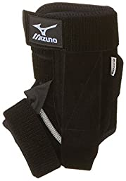 Mizuno DXS2 Left Ankle Brace, Black, Large