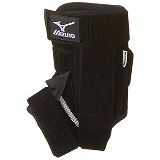 Mizuno DXS2 Left Ankle Brace, Black, Medium