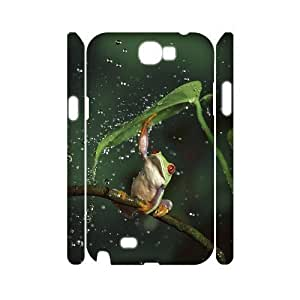 Frog Custom 3D Samsung Galaxy Note3 ,diy phone case ygtg531938 Kimberly Kurzendoerfer