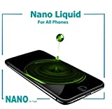 Original Nano Liquid Screen Protector, Scratch Resistant 9H Hardness for All Smartphones, Tablets, Watches Glasses, Cameras. Nano Coating for Apple iPhone 6/6s, 7/7 Plus, 8, X, Xs, Xr.