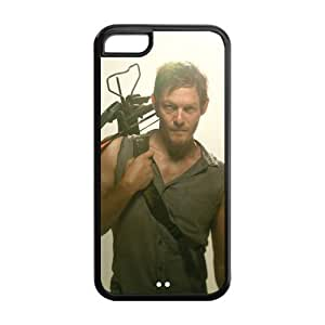 Hot Actor Norman Reedus Daryl Dixon Inspired Design TPU Case Back Cover For ipod touch4 ipod touch4-NY1118