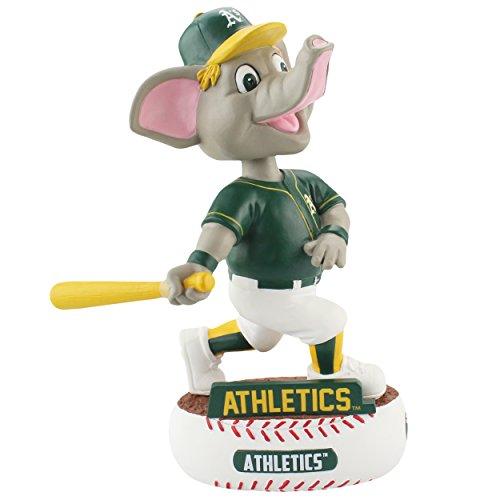 FOCO MLB Oakland Athletics Unisex Baller BOBBLEBALLER Bobble, Team Color, One Size