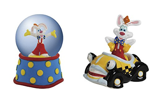 Water Mm 45 Globe (Westland Giftware Roger Rabbit 45 mm Water Globe and Salt and Pepper Shaker)