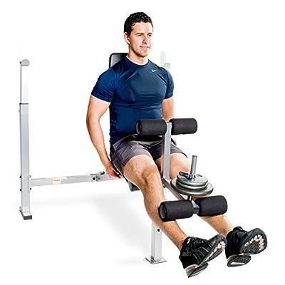 CAP Barbell FM-CS7230 Cap Strength Standard Weight Bench with Leg Developer