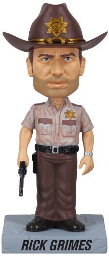 5 opinioni per The Walking Dead di Rick Grimes Bobble Head Figurina