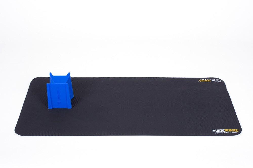 Music Nomad MN207 Premium Instrument Work Mat and Cradle Cube Neck Support