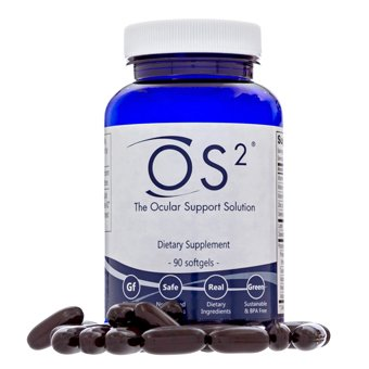 OS2 - The Ocular Support Solution Nutritional Supplement 90 Softgels