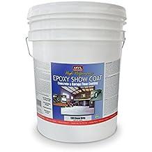 Anvil Epoxy Show Coat Concrete and Garage Floor Coating (5 Gallon, Dover Grey)