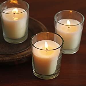 Unscented Glass Votives