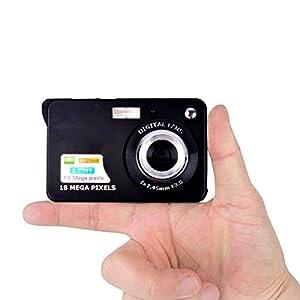 PowMax WW-49 2.7 Inch TFT 8X Optical Zoom 18MP 1280 X 720 HD Anti-shake Smile Capture Digital Video Camera(Blak) from PowMax