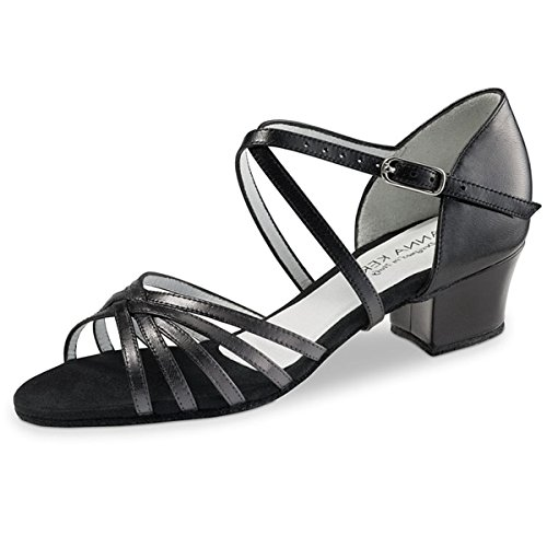 5 581 3 Shoes 35 Dance cm Black Leather Kern Anna Black Ladies n6aq1zxO