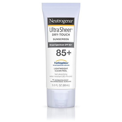 Neutrogena Ultra Sheer Dry-Touch Sunscreen, SPF 85, 3 Ounce (Spray Waterproof Sunscreen compare prices)