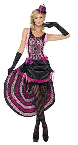 Smiffy's Burlesque Beauty Costume, Pink/Black, Small]()