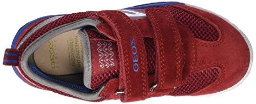 Geox J Trifon Boy B, Zapatillas Para Niños Rojo (RED/SKYC7239)