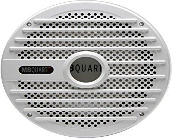 """*MB QUART NWF-254 NAUTIC AUDIO 10/"""" SUBWOOFER REPLACEMENT GRILL COVER WHITE"""
