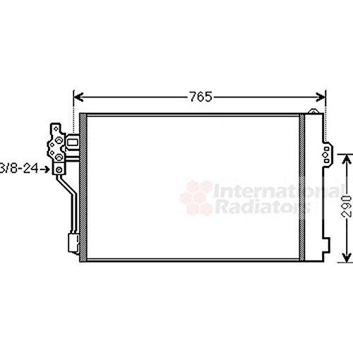 Air Conditioning Van Wezel 30005484 Condenser