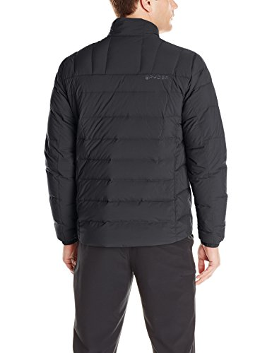 Zip Men's Down Spyder Dolomite Full Black Jacket Polar t6wwqSn4