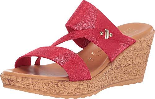 ITALIAN Shoemakers Women's Adriane Red 7.5 M US