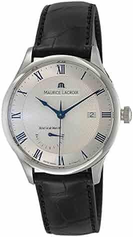 Maurice Lacroix Masterpiece Réserve de marche Automatic Watch, Silver, ML 113