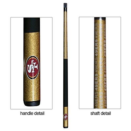 (Eliminator San Francisco 49ers Billiard Pool Cue Stick)