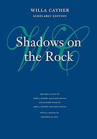 book cover of Shadows on the Rock
