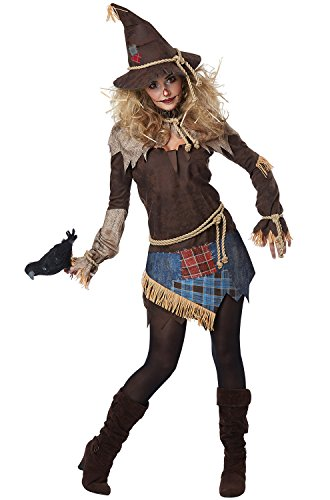 California Costumes Creepy Scarecrow Adult Costume-Medium