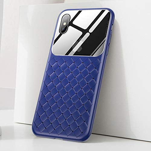 Fitted Cases - Basues Weaving Case for iPhone Xs Max Xr X S R Xsmax Ultra Thin Slim Silicone TPU Back Cover for iPhonexs Max Coque Fundas Capa - by John_Kendy - 1 PCs]()