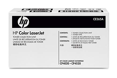 HP CE265A 648A Color LaserJet CM4540 CP4025 CP4520 CP4525 Enterprise 600 M651 M680 Waste Toner Collection Unit in Retail Packaging (Hp Laserjet Cp4520 Ink)