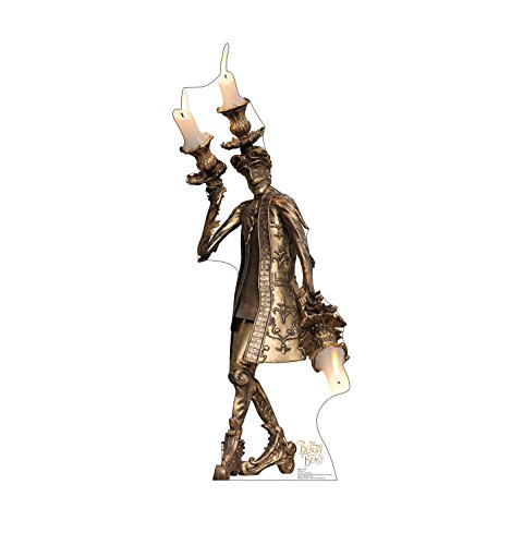 Advanced Graphics Lumiere Life Size Cardboard Cutout Standup - Disney's Beauty and The Beast (2017 Film) (Disney Beauty And The Beast Lumiere Candelabra)