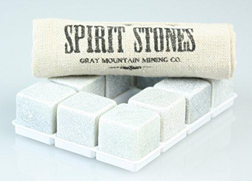 Spirit Stones Pure Soapstone Whiskey Ice...
