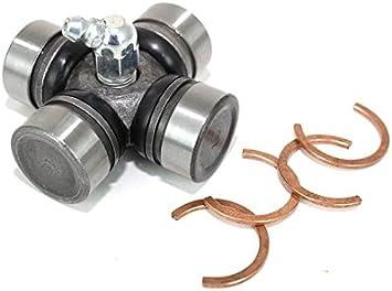 BossBearing Both Front Drive Shaft U Joint for Polaris Scrambler 500 4x4 2008 2009 2010 2011 2012