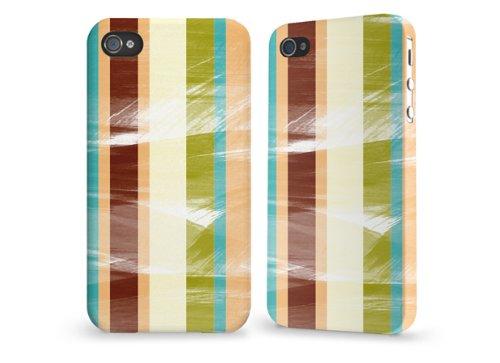"""Hülle / Case / Cover für iPhone 4 und 4s - """"Stripes"""" von caseable"""
