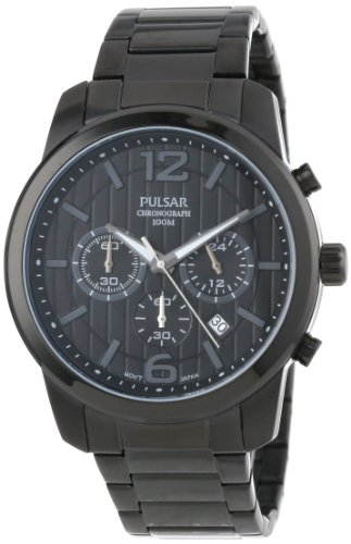 Pulsar Analog Wrist Watch (Pulsar Men's PT3287 Chronograph and Analog Calendar Collections Watch)