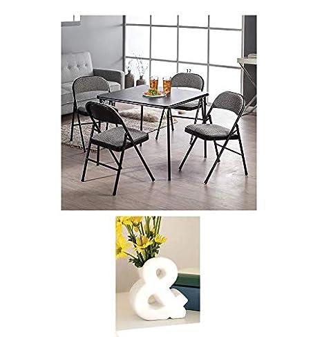 Amazon.com: MECO Sudden Comfort Deluxe - Juego de mesa y ...