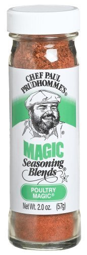 Magic Poultry Seasoning - 2.2 ounce -- 6 per case. by Chef Paul ()