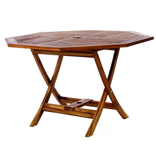 All Things Cedar TO48 Teak Octagon Patio Table