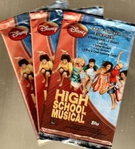 HIGH SCHOOL MUSICAL - Card & Sticker Fun Packs (3 Pack lot) ()