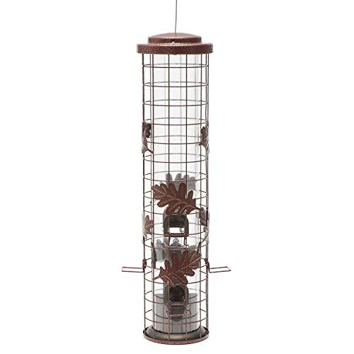 Perky-Pet Squirrel-Be-Gone Cylinder Wild Bird Feeder ()