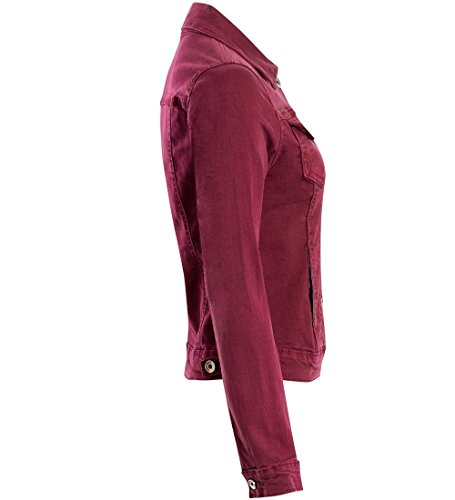 Berry Jean 40 Vestes Veste Taille Aménagée Ladies Femmes En Stretch Baie Lavée 34 Ss7 Denim 780qwzv
