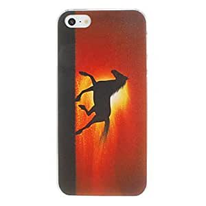 Runing Horse Pattern PC Hard Case for iPhone 6 plus 5.5